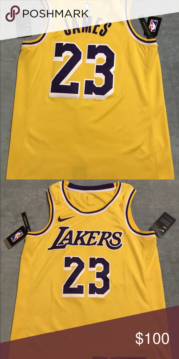 half off 9b9b5 6e2ea Nike Lebron James Los Angeles Lakers Jersey 🔥 New w tags ...