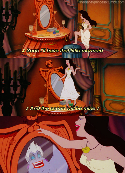 Seriously When I Was A Little Honestly Wanted To Kick Human Ursula In The Head Like Cried She Pretended Be Ariel