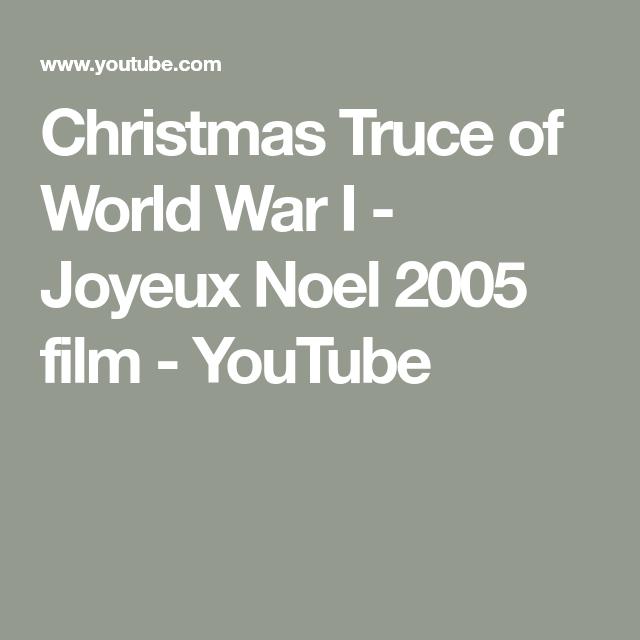 Christmas Truce of World War I - Joyeux Noel 2005 film - YouTube   Christmas truce, World war ...