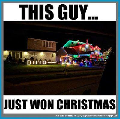 Diy And Household Tips Christmas Lights Win Christmas Humor Christmas Memes Funny