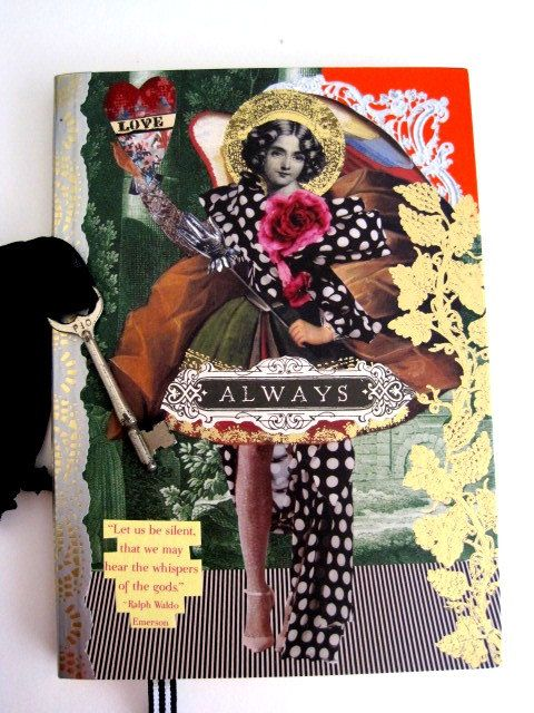 Altered Art Journal Christian Lacroix ANGELS MEET by IMGirl, $38.00