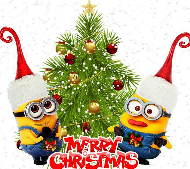 Minion Christmas Hd Desktop Wallpapers 4k Download Minion Christmas Merry Christmas Minions Christmas Wallpaper