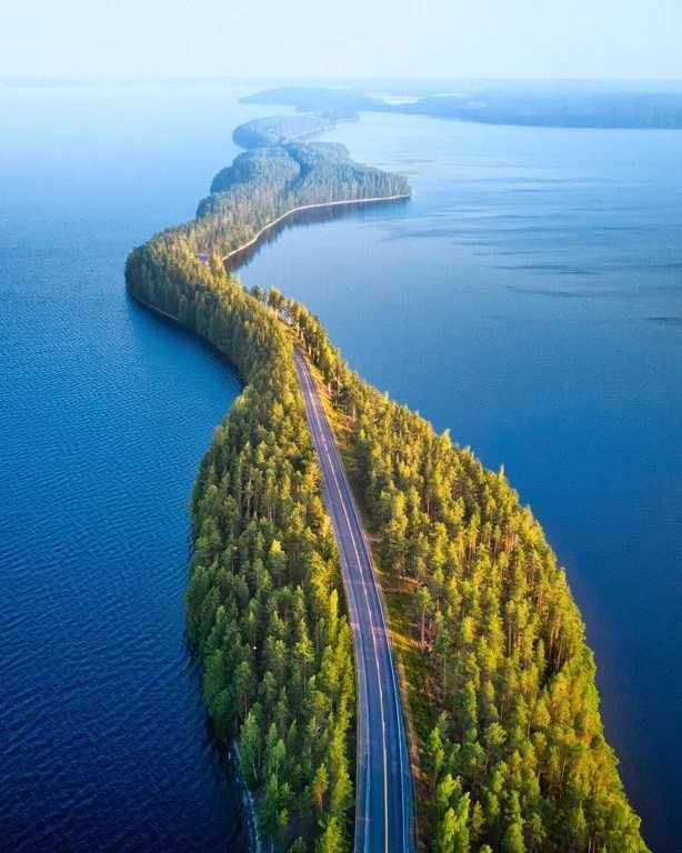 Nature's bridge in Finland #scenery