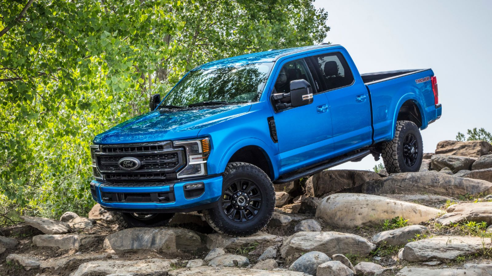 The 2020 Ford Super Duty Tremor Is An Off Roader With A Very Large