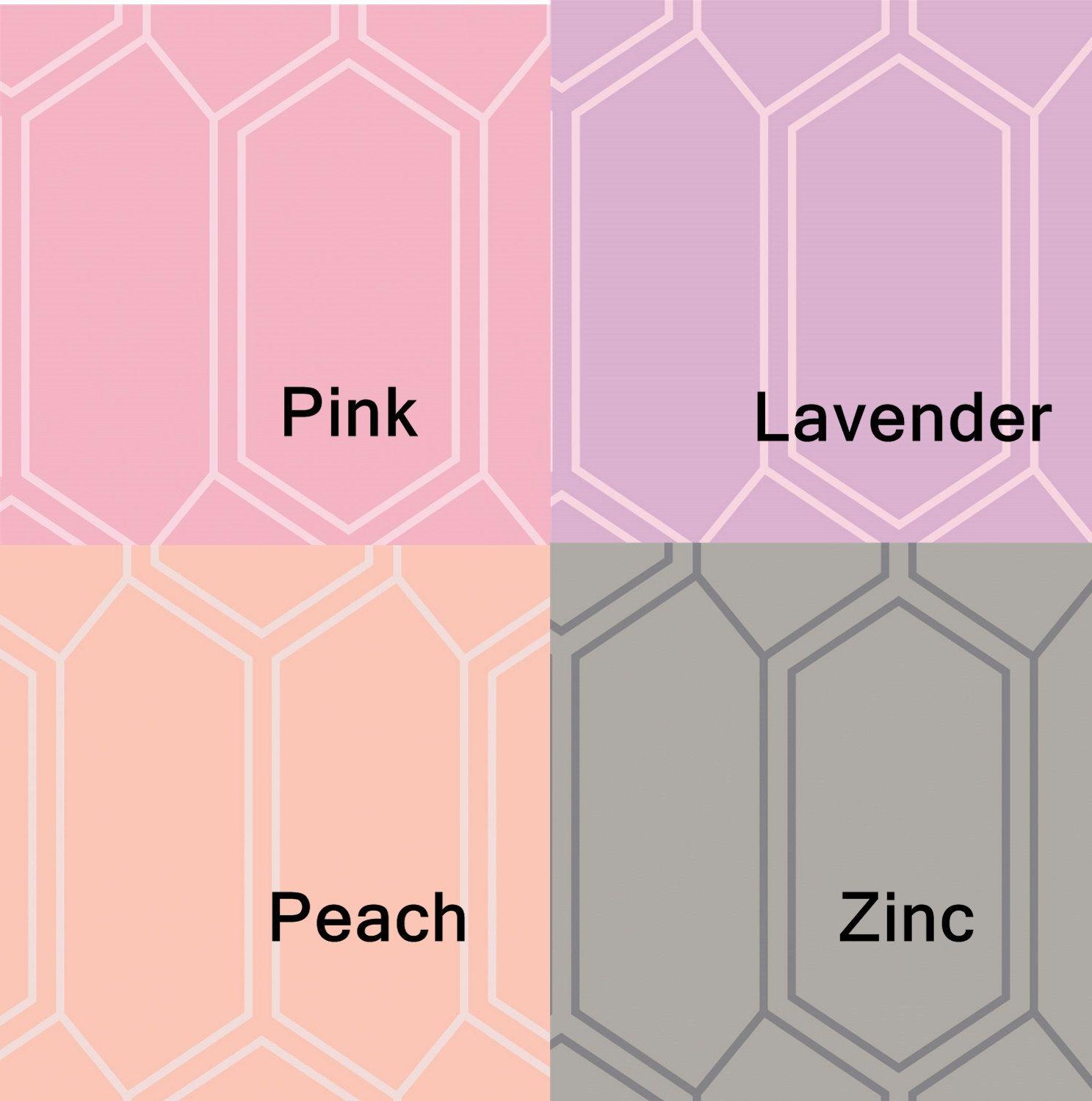 Bees Nest in Pink, in Lavender Purple, in Peach, in Zinc Grey ...