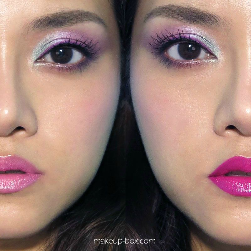 Urban Decay Ammo Palette Tutorial - Blue and Violet Eye