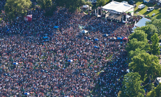 Boise Idaho Boise Music Festival Band Concert Crowd Ann