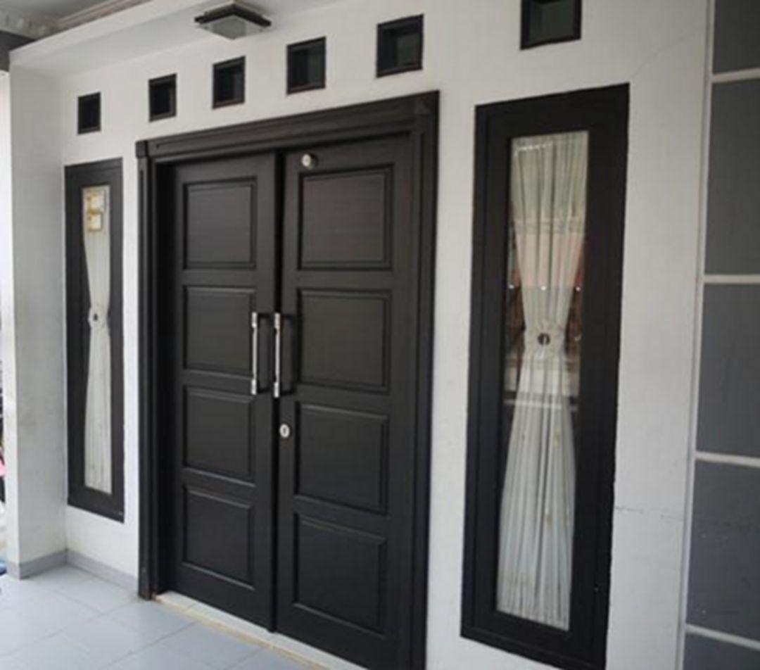 20 Minimalist And Beautiful Front Door Design Ideas For Your House Home Door Design Door Design Modern Main Door Design
