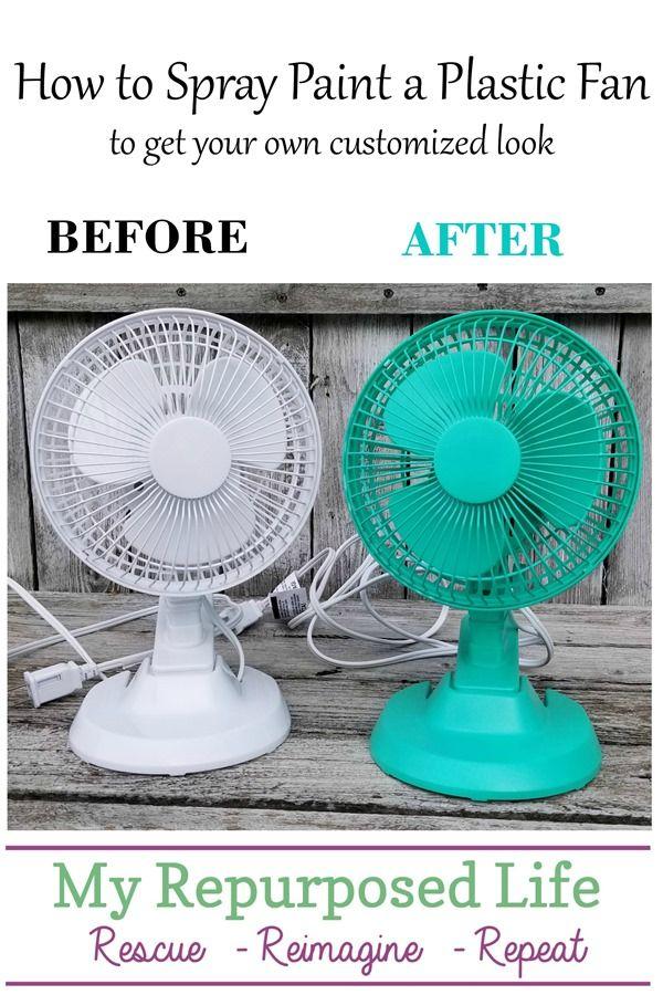 Customized Plastic Fan   Spray painting, Spray paint fan ...