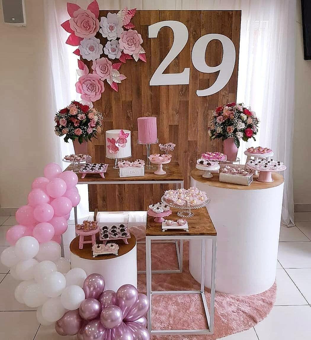 mini table linda para festa de adulto