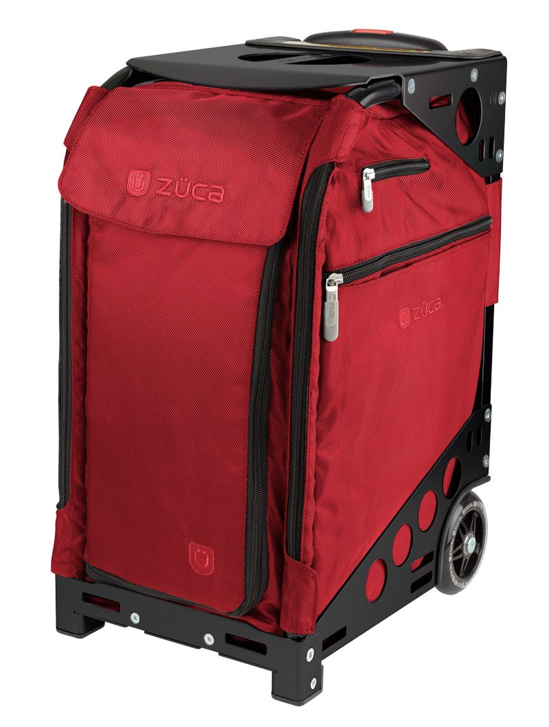 Pro Travel Ruby Red/Black Zuca bag, Zuca, Travel collection