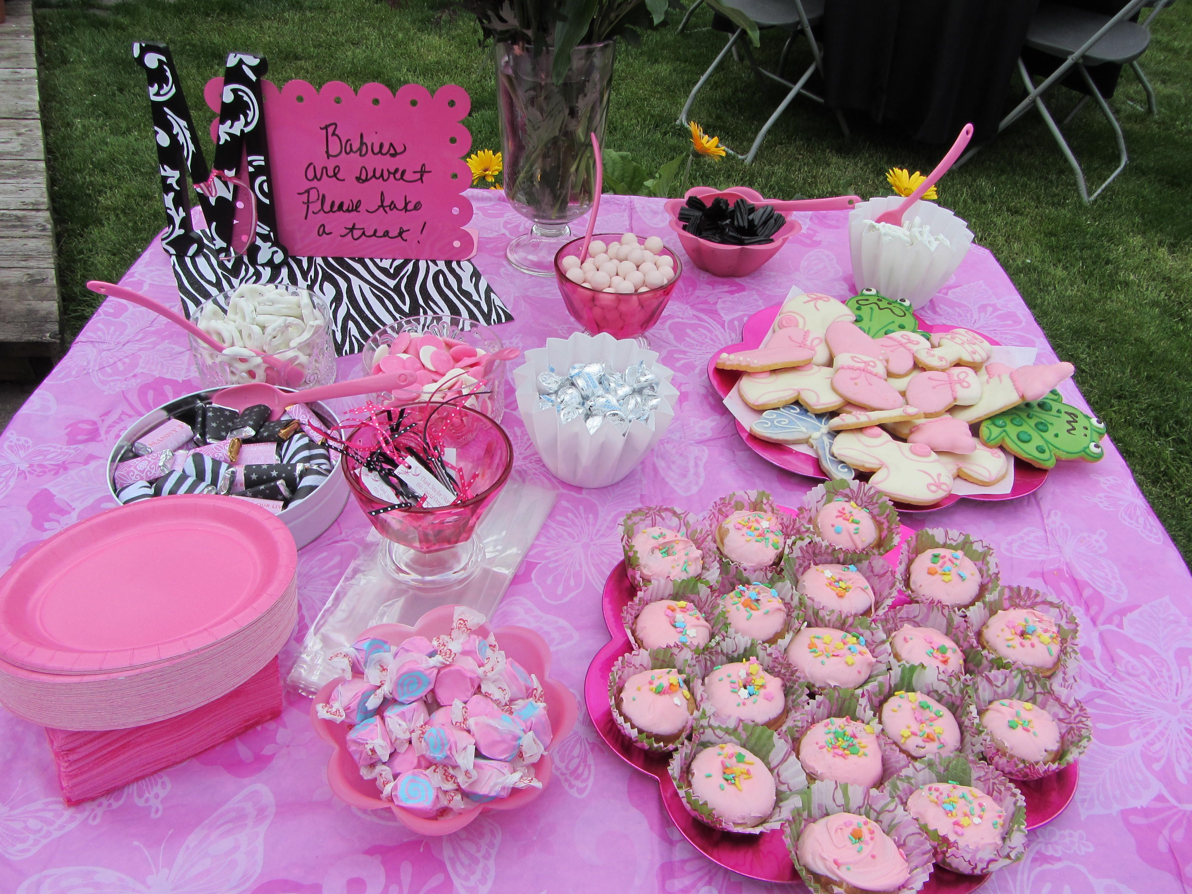 Girl Baby Shower Food | Baby Shower Sweet Treats
