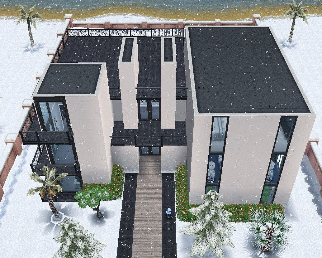 2 house and real estate agency casa sims sims the sims