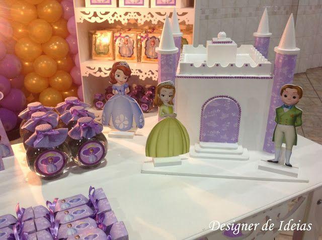 ideas para decorar la fiesta princesa sofia