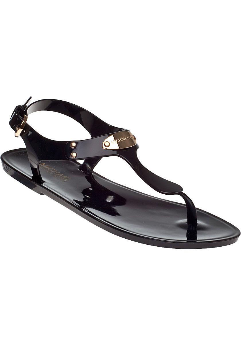 Black sandals michael kors - Micheal Kor Shoes Pictures Michael Michael Kors Plate Jelly Sandal Black Jildor Shoes