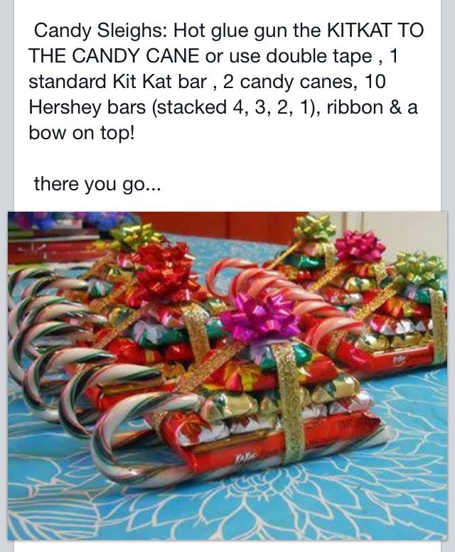 Cute secret Santa idea, might make these for the kids at our family ...