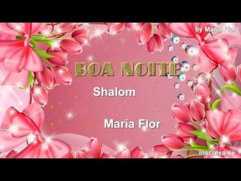 Boa noite abençoada com sabedoria,tranquilidade e paz - lindo vídeo para whatsapp - YouTube