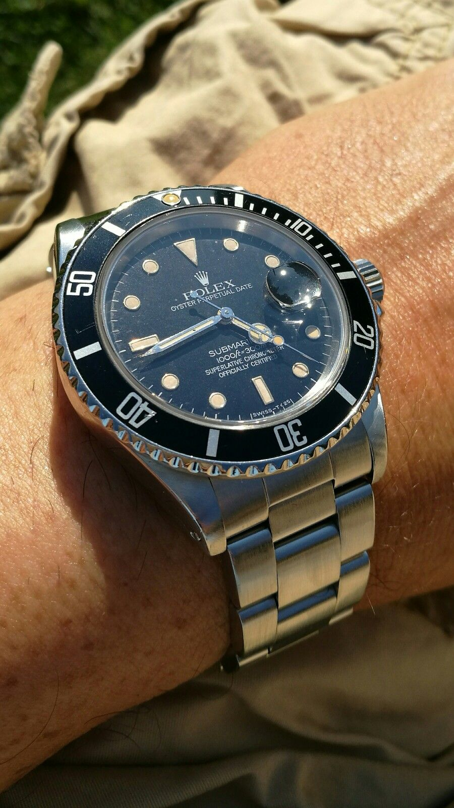 Rolex Submariner 168000 from 1987 Luxury watches for men