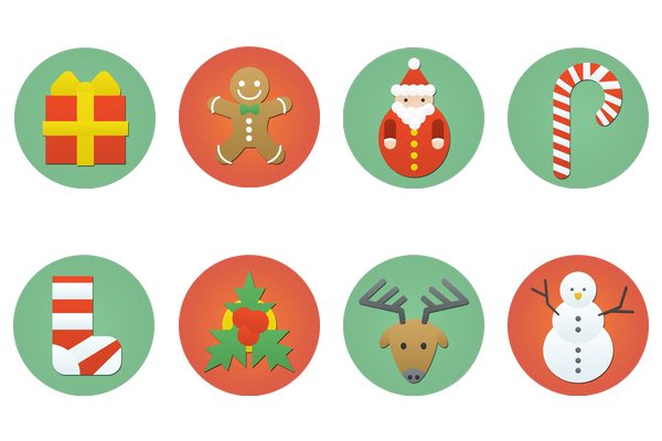 Christmas Icons Png.Pin By Dmitriy R On Inspiration Flat Icons Flat Design