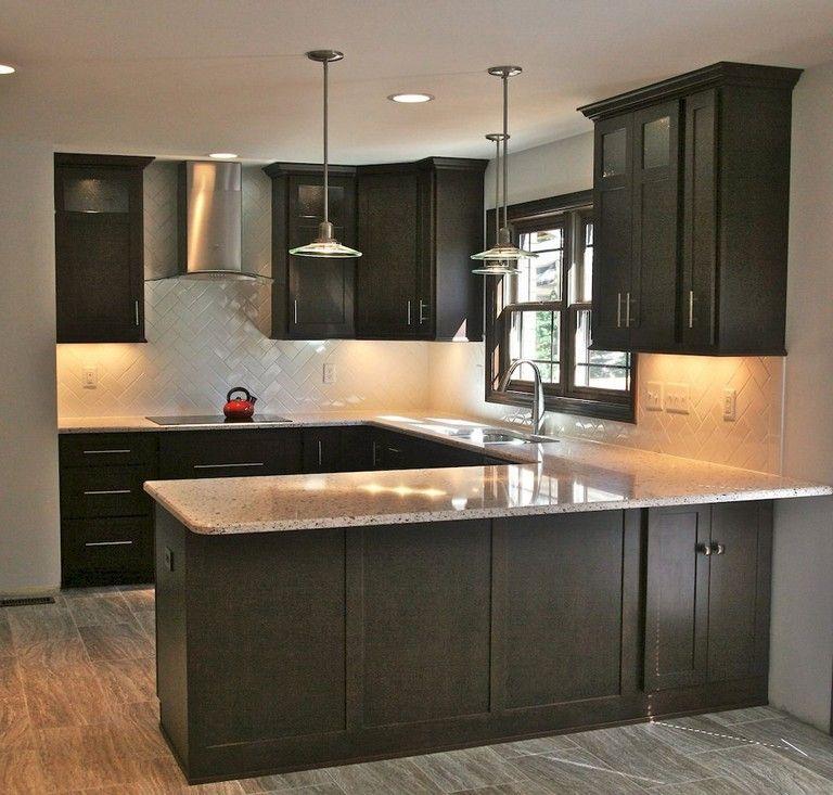 92 Amazing Kitchen Backsplash Dark Cabinets Kitchen Remodel