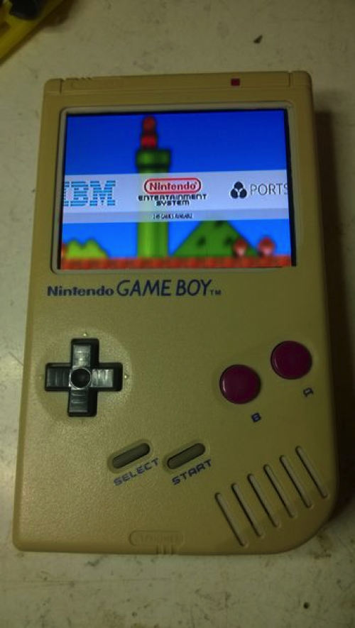 Upgrade an old gameboy with raspberry pi piday