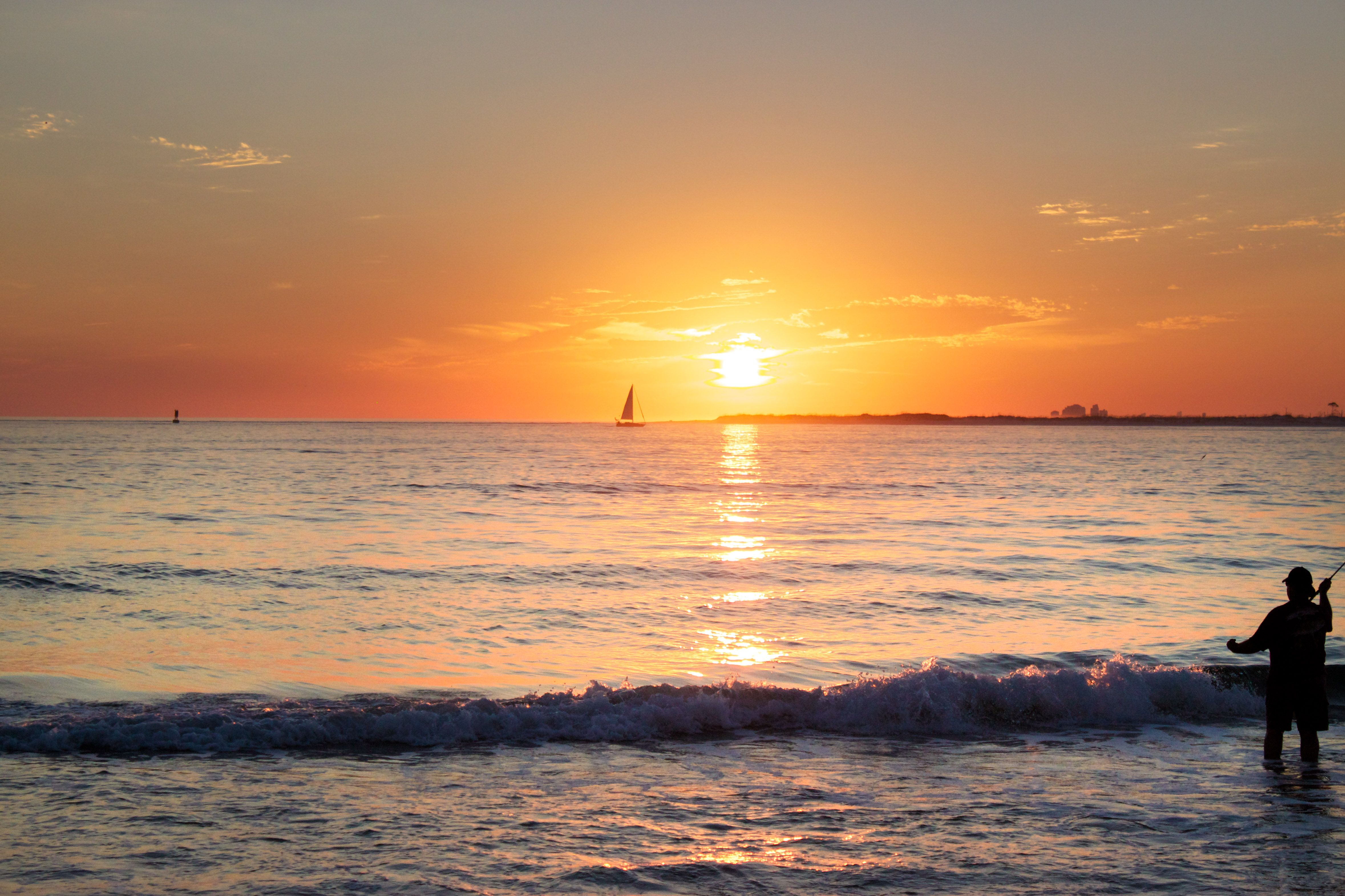 Pensacla Sunset from Fort Pickens