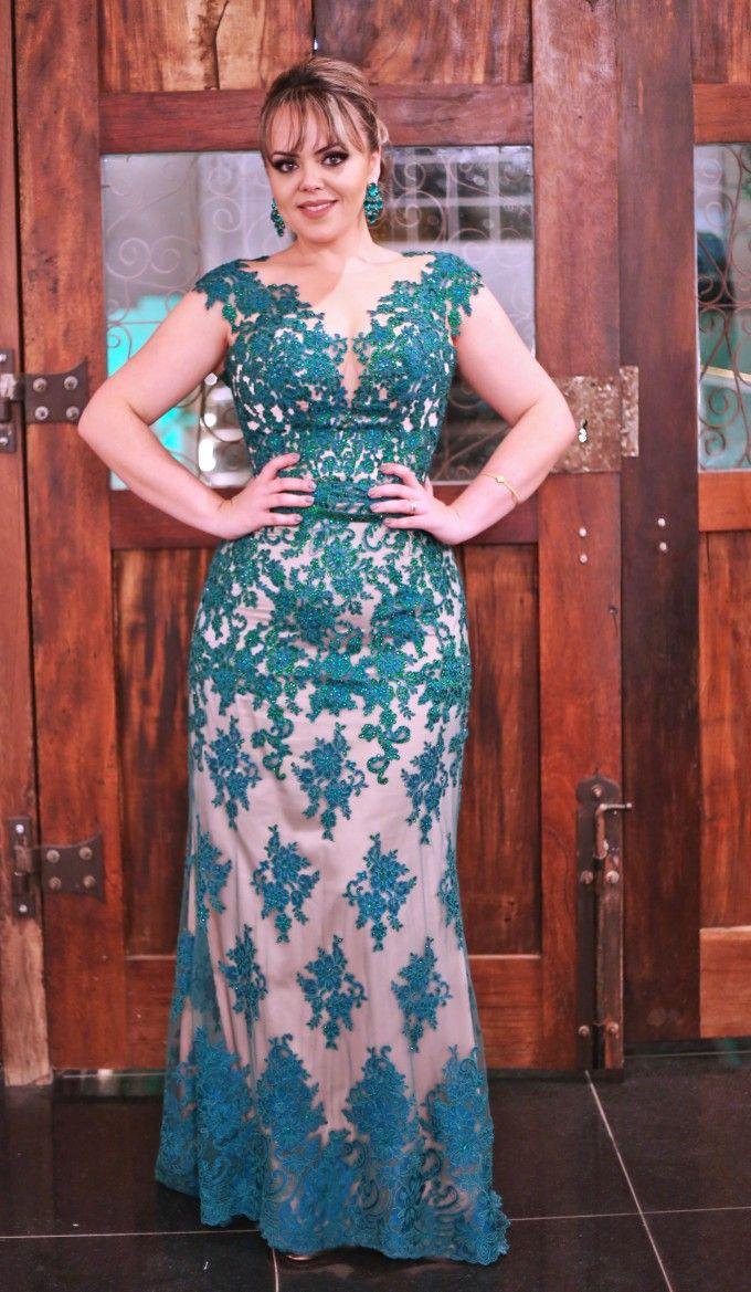 Vestido madrinha vestidos de festa pinterest moda lace