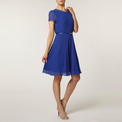 Dorothy Perkins Cobalt pintuck dress- at Debenhams.com   Graduation ...
