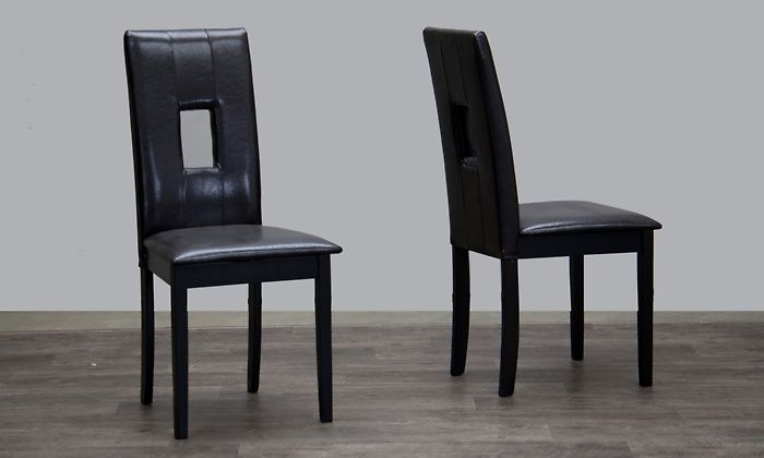 Dark Brown Dining Chairs Set of 2 for $108 http://sylsdeals.com/dark-brown-dining-chairs-set-of-2-for-108/