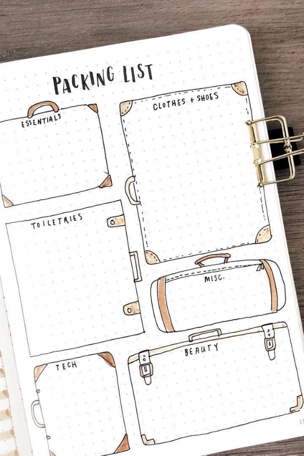 If you're looking for creative bullet journal layout ideas, here's 50 unique layout styles to give you some inspiration! Daily pages, weekly spreads, habit trackers and more that will keep you more organized all year long.