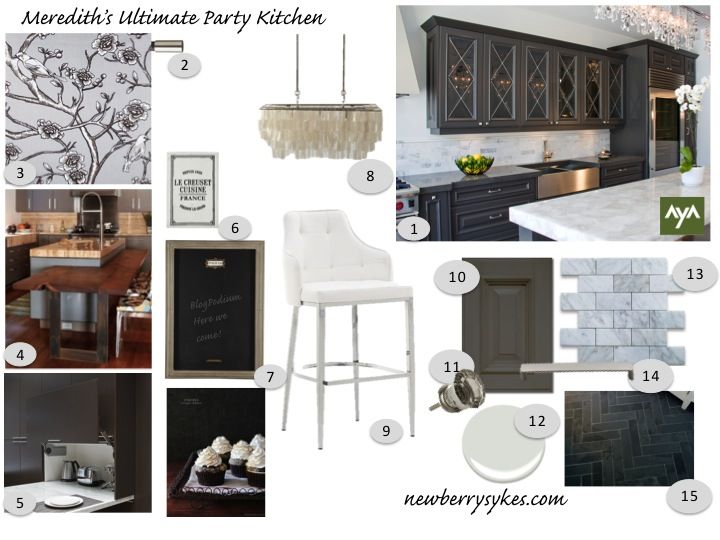 NewberrySykes AyA Kitchen Mood board 2 | Interior design ...