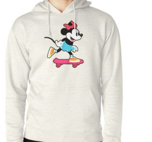 Minnie Mouse Skater Hoodie (Pullover)