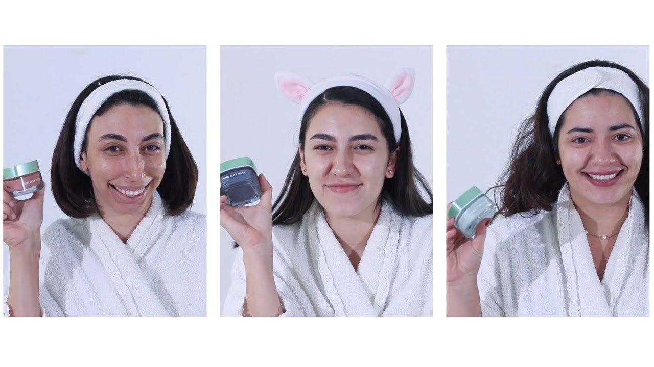 اعرفي طريقة استخدام ماسك الطمي الجديد من لوريال L Oreal Pure Clay Mask لاعداد بشرتك قبل المكياج Beauty Makeup Tips Beauty Review