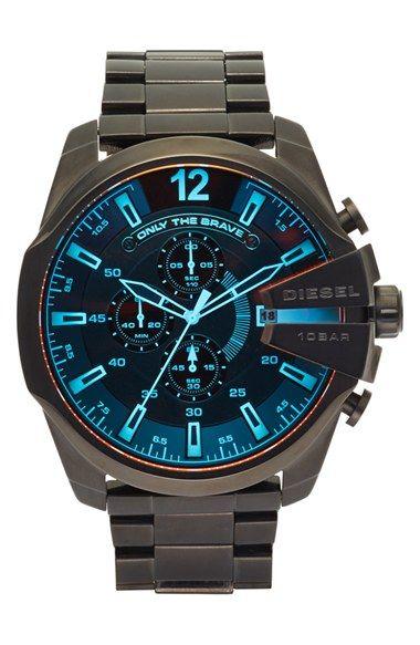 DIESEL®  Advanced  Chronograph Bracelet Watch 5933c7841e