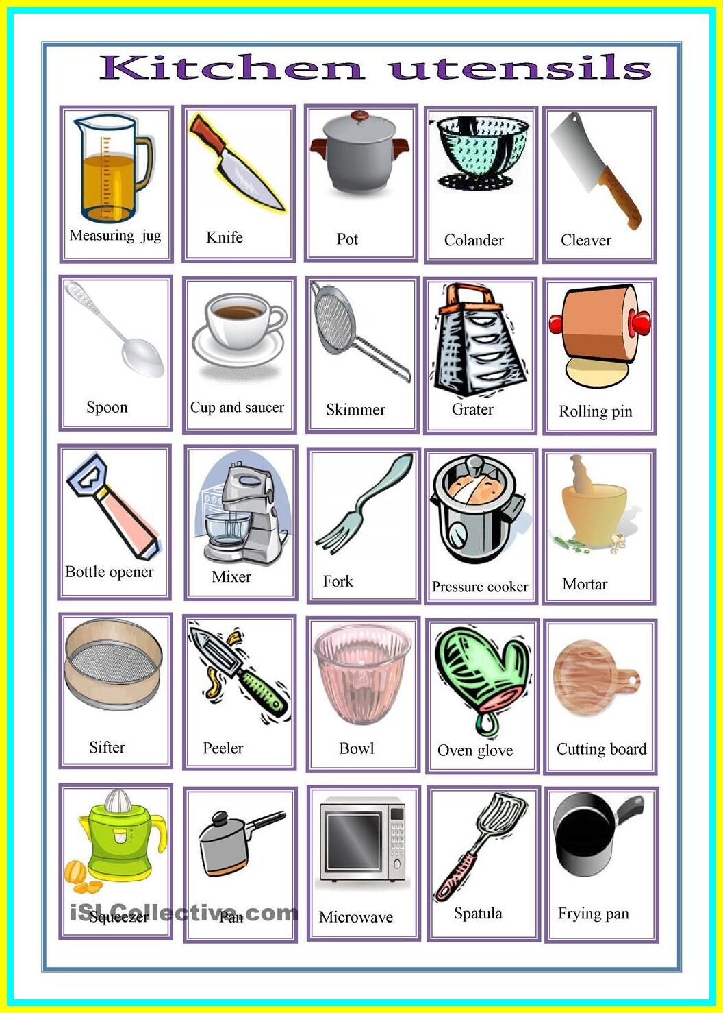 110 Reference Of Kitchen Tools For Kids In