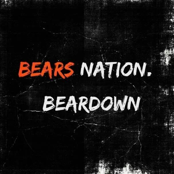 Bears Nation Beardown With Images Chicago Bears Chicago Bears Football Chicago Sports