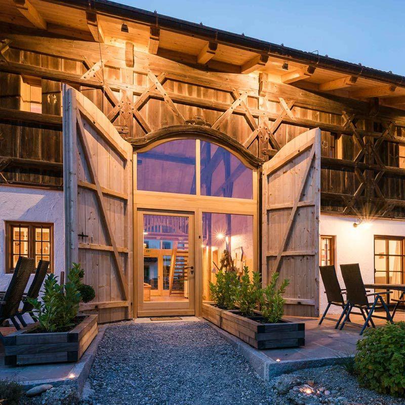 Einzigartiger Urlaub in Bayern im Chiemgauer Bundwerkstadel