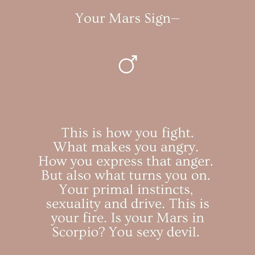 """Nadine Jane Astrology on Instagram: """"Don't know your Mars? You will need to access your birth chart. To do that click the link in my bio!"""""""
