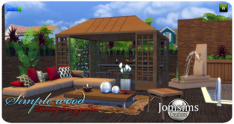 Jardin Sims 4 Sims 4 Sims