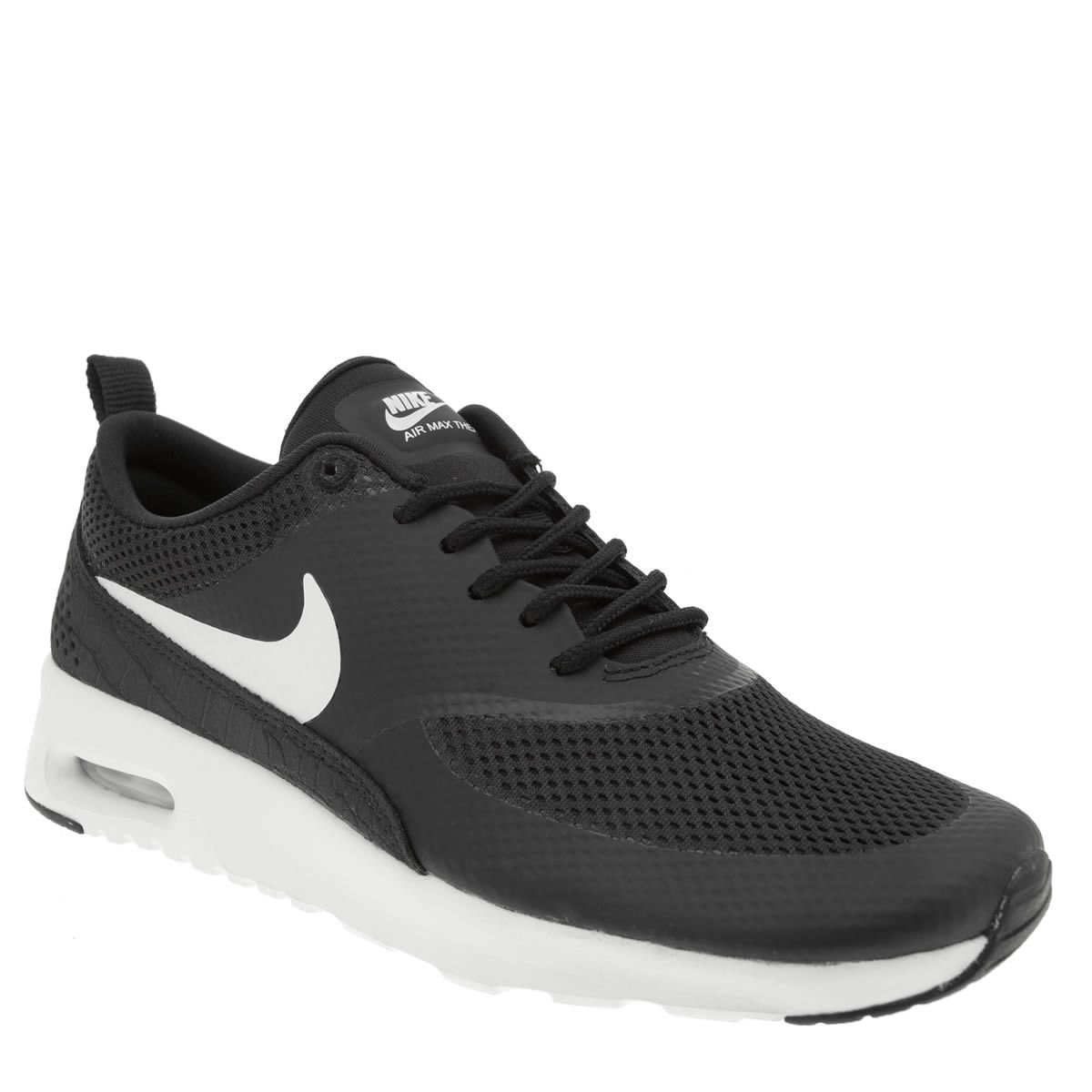 womens nike black air max thea trainers