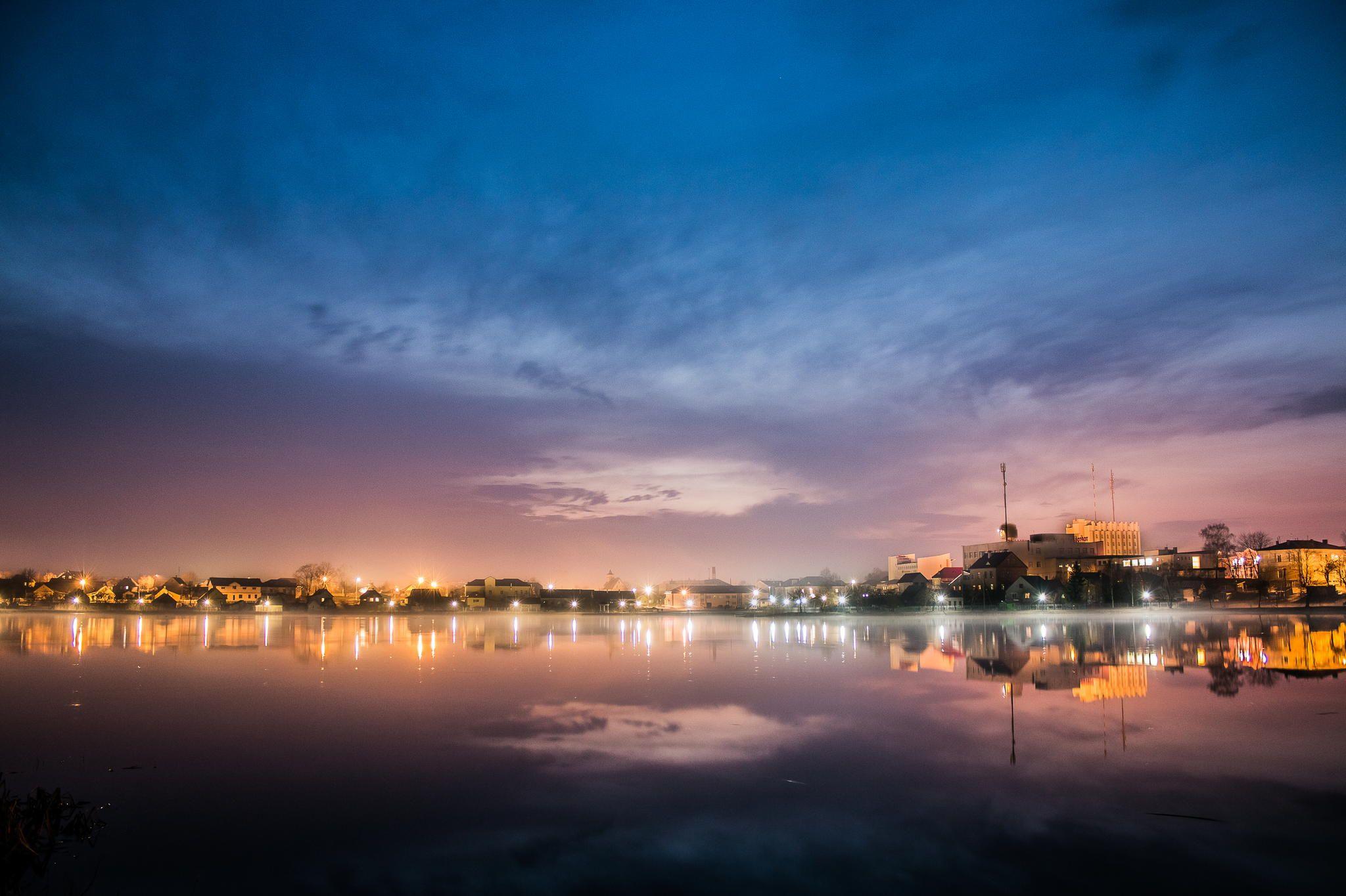 Фотография Вечерний город автор Pavel Shauro на 500px