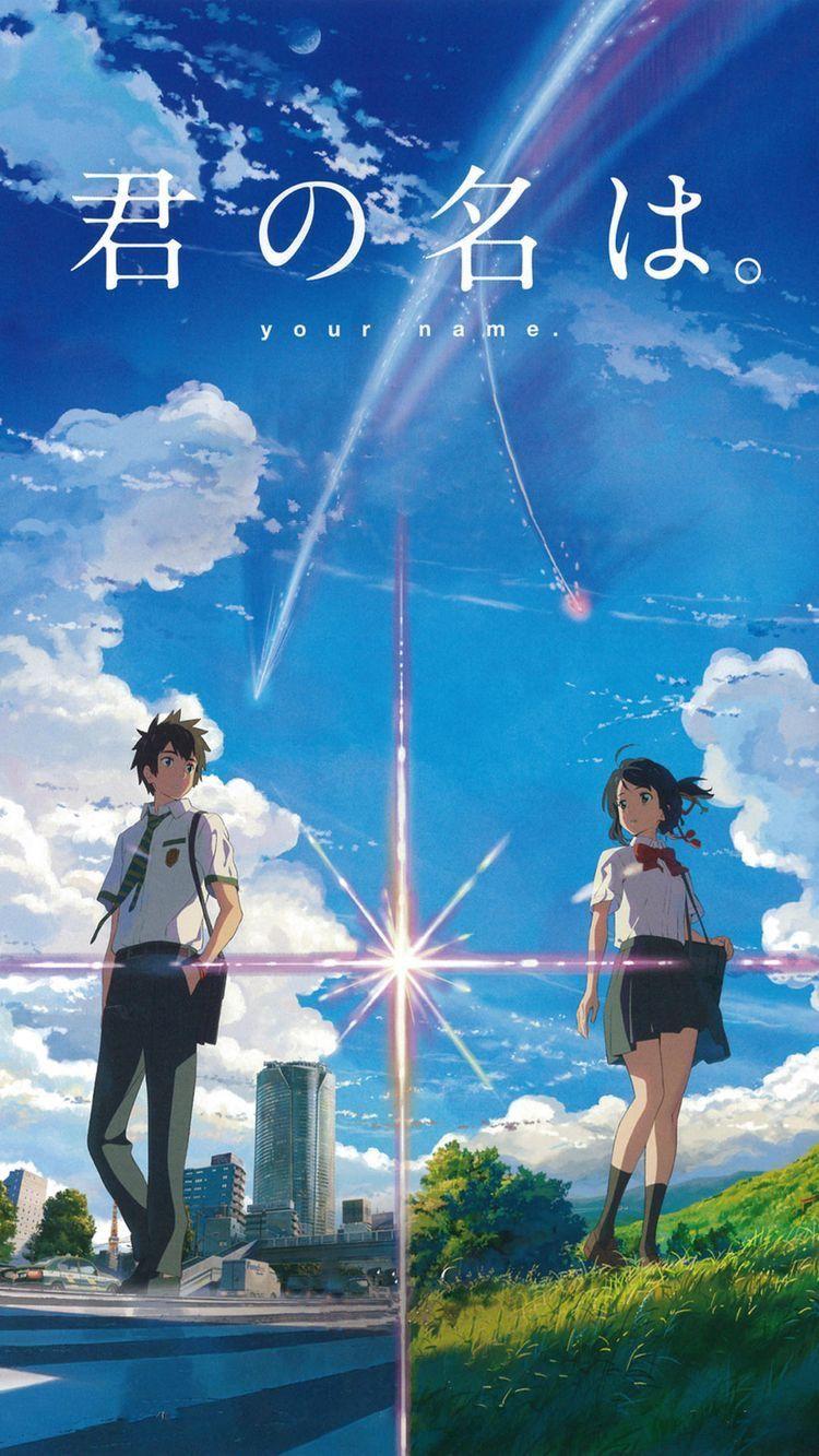Kimi No Na Wa Your Name Pemandangan Anime Gadis Animasi Animasi