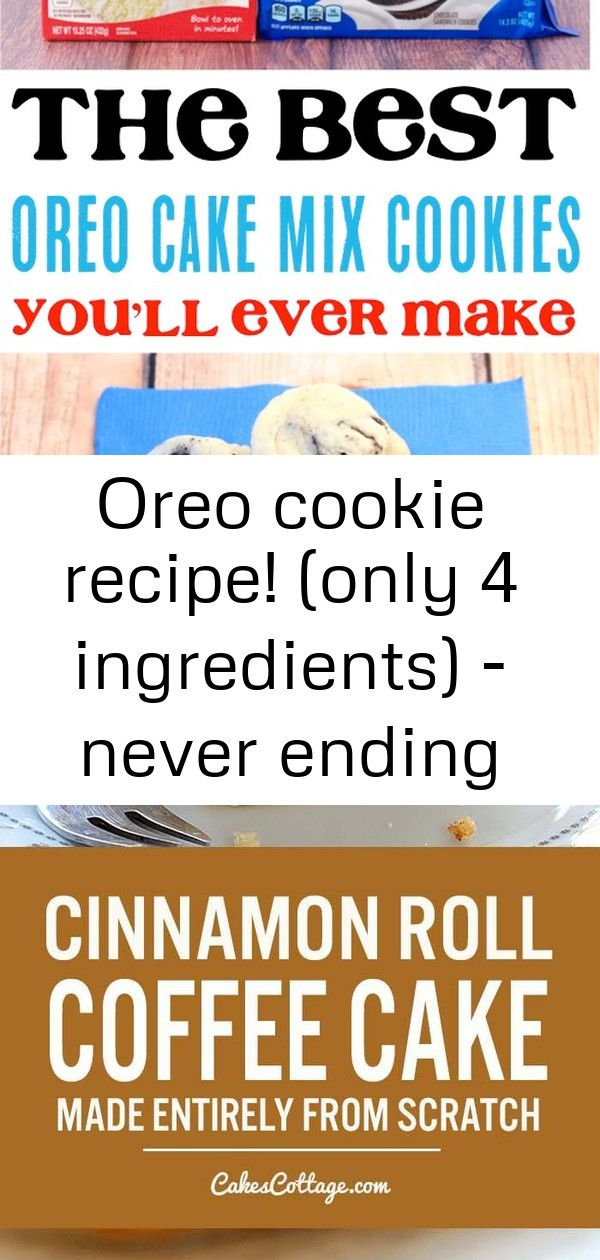 Oreo cookie recipe! (only 4 ingredients) - never ending journeys 3 #strawberrycinnamonrolls