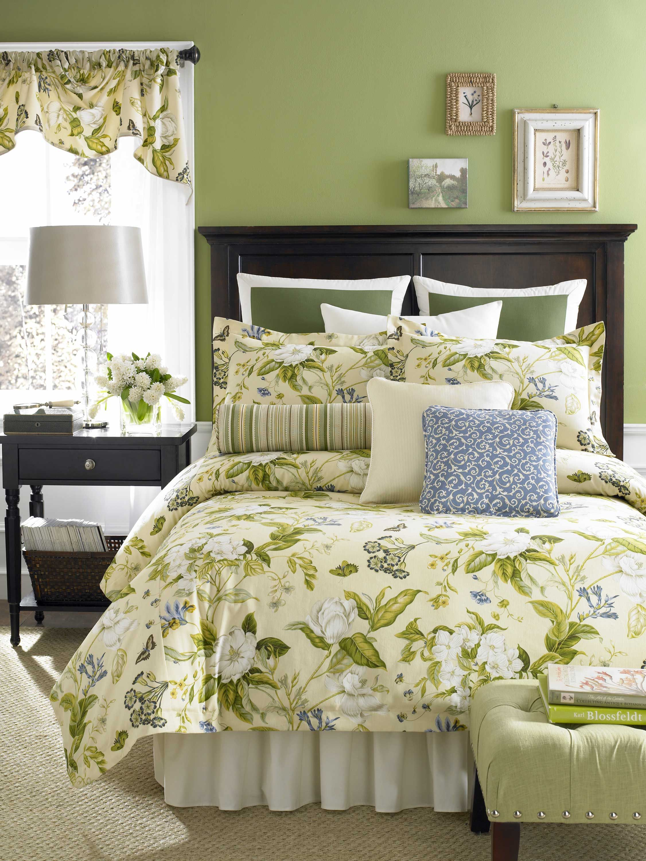 and galleria green comforter cal croscill brown blue king california set sets