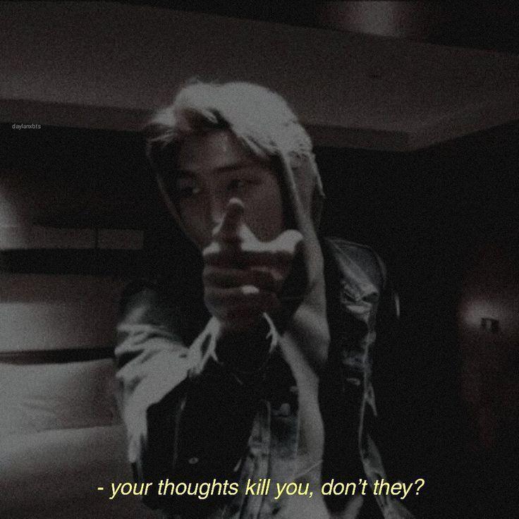 your thoughts kill you v   your thoughts kill you right