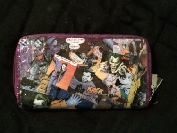 The Joker  fashion glittery oversized comic book by KellaGeeks