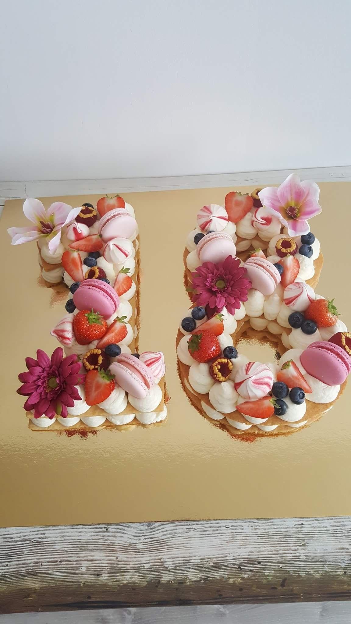 1. Vegan Vanilla Birthday Cake