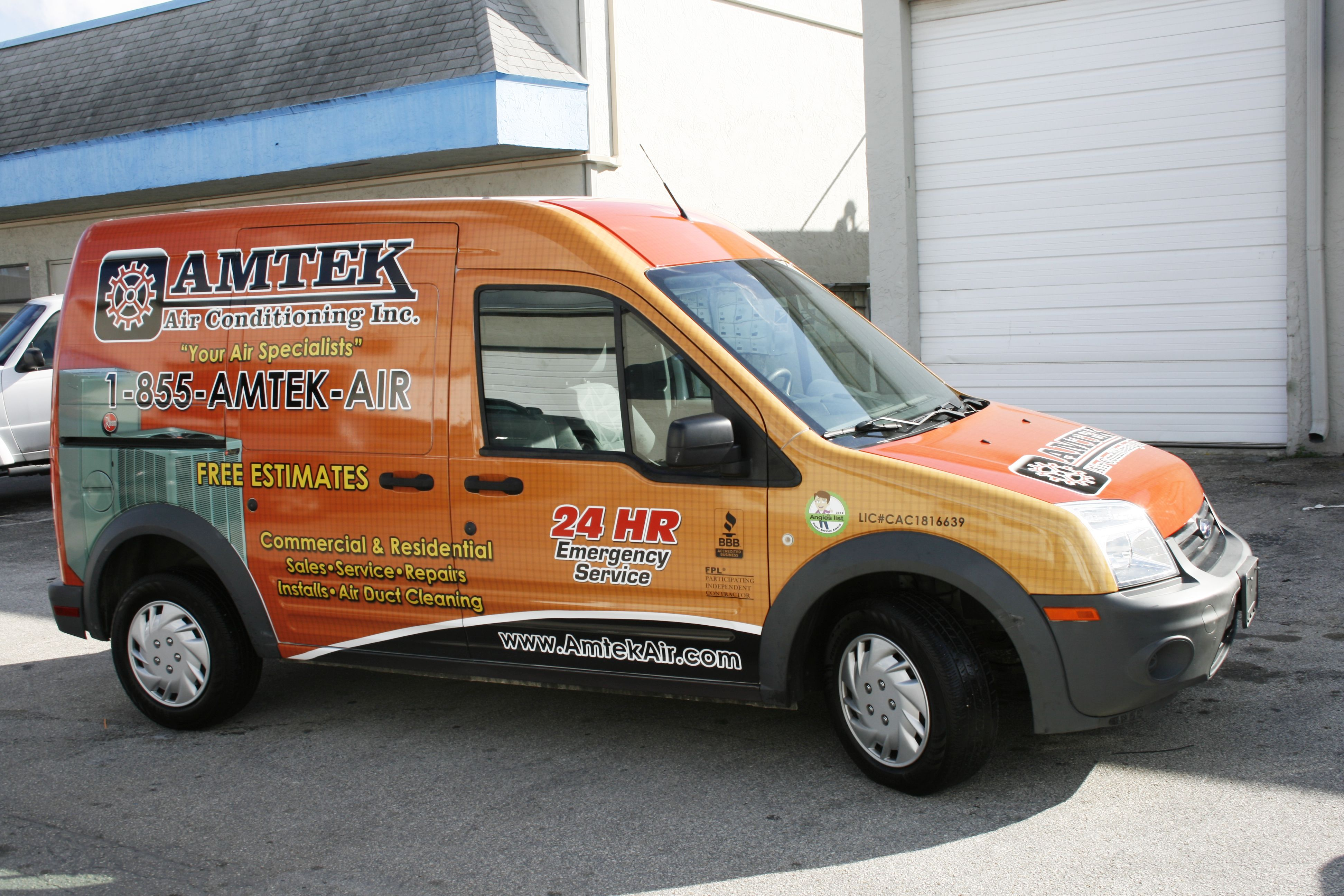Ford transit connect wrap graphics port st lucie florida http www carwrapsolutions