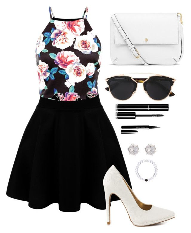 """""""Untitled #153"""" by rena-veloni on Polyvore featuring Qupid, Tory Burch, Christian Dior, Chanel, Marc Jacobs, River Island, women's clothing, women, female and woman"""