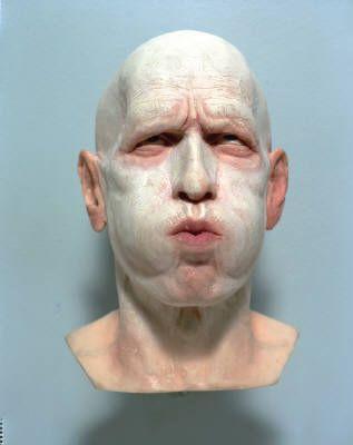 Richard Stipl   Breathe   Sculpture   Head